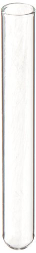 Kimble 73500-1075 N-51A Borosilicate Glass Culture/Test Tube, with Rim Top (Case of 1000)
