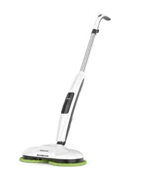 Gladwell Cordless Electric Mop, 3 in 1 Spinner, Scrubber and Waxer Quiet and Powerful Cleaner, Spin Scrubber and Buffer, Polisher for Hard Wood, Tile, Vinyl, Marble And Laminate Floor