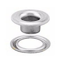 Stimpson Self-Piercing Grommet and Washer Nickel-Plated Reliable, Durable, Heavy-Duty #3 Set (300 Pieces of Each)