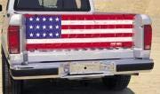 Covercraft (PN012) US Flag Logo Heavy-Duty ProNet Tailgate - Pack of 1