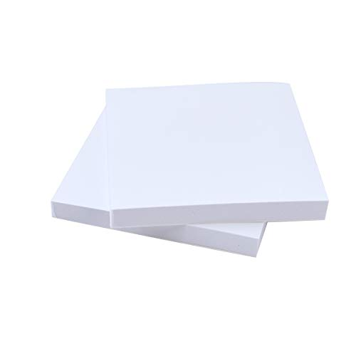 100 Sheets Small Dental Disposable Mixing Pads, Ploy Coated Lab Paper 3'' x 3''