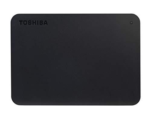 Toshiba (HDTB440XK3CA) Canvio Basics 4TB Portable External Hard Drive USB 3.0, Black