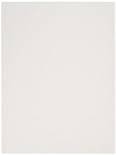 Sax Sulphite Drawing Paper, 70 lb, 9 x 12 Inches, Extra-White, Pack of 500 - 206309