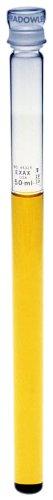 Kimble 45325A-50 Borosilicate Glass 50mL Nessler APHA Color Comparison Tube with Cap Stopper