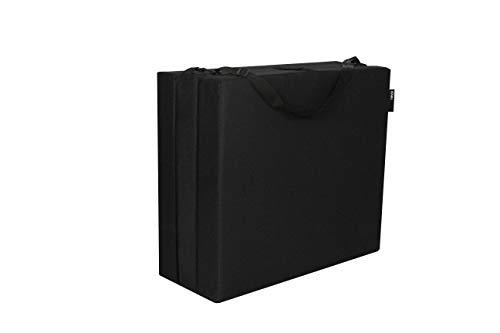 American Furniture Alliance Jr Twin Black Trifold Mattress, Mesh/Poly