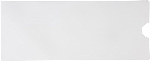 Safe Way Traction 16' X 40' White Adhesive Vinyl Anti Slip Non Skid Safety Bath Mat with Drain Cut Out