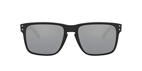 Oakley Men's OO9417 Holbrook XL Square Sunglasses, Polished Black/Prizm Black, 59 mm