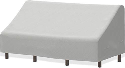 Simple Houseware 3-Seater Deep Lounge Patio Sofa Cover, 79 x 38 x 29 Inches