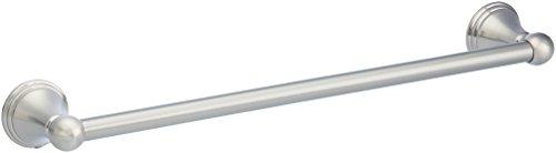 AmazonBasics AB-BR810-SN Modern Towel Bar, 18-inch, Satin Nickel