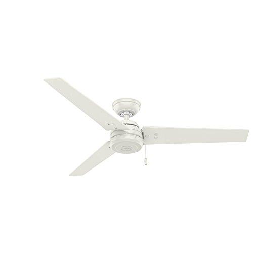 Hunter Fan Company 59263 Cassius Fresh White Ceiling Fan, 52'