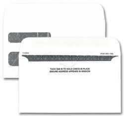 EGP Double Window Envelope Business Envelope, 6 3/16' x 3 9/16', 250 Envelopes