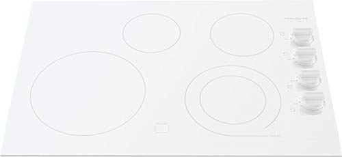 Frigidaire Gallery 30' White Electric Stovetop Cooktop FGEC3045KW