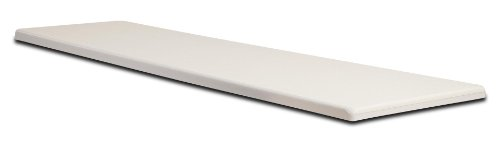 S.R. Smith 66-209-270S2-1 Fibre-Dive Replacement Diving Board, 10-Feet, Radiant White