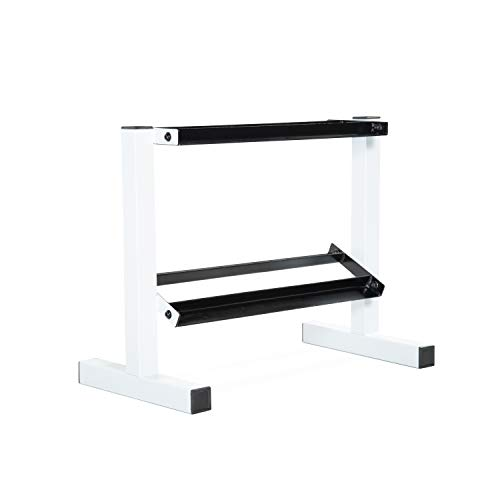 CAP Barbell White 24' Dumbbell Storage Rack