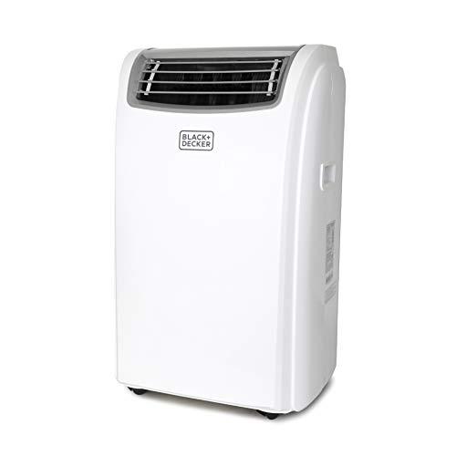 Black + Decker BPACT12HWT Portable Air Conditioner, 12,000 BTU with Heat, White