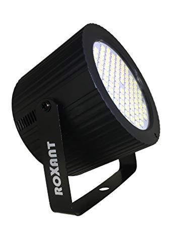 Roxant Mini Strobe Cannon 88 Super-Bright LEDS Lights. Manual Flash Speed Adjustment + Auto Sound-Activated Mode.