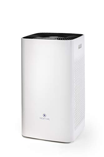 Medify Air MA-112 V2.0 Super CADR 950 H13 True HEPA Air Purifier | Covers 2,400 sq ft - Allergies, Smog, Odors, Smoke, Pets Dander, Dust | Dual Intake with 2 Filters