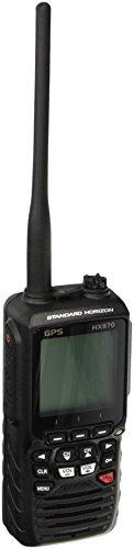 STANDARD HORIZON HX870 Floating 6W Handheld VHF with Internal GPS, Black