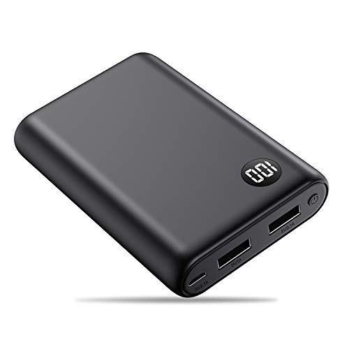 Portable Charger Power Bank [13800mAh],Trswyop External Battery Pack Portable Phone Charger with Digital LCD Display Ultra Compact High-Speed Charging Power for Smart Phone,Android Phone,Tablet