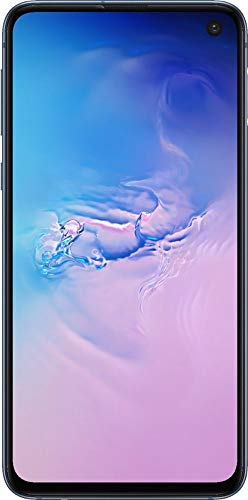 Samsung Galaxy S10e, 128GB, Prism Blue - Fully Unlocked (Renewed)