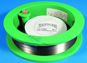 Tungsten Wire 0.02' (0.51 mm), 20ft