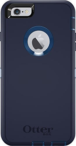 Otterbox Defender Iphone 6 PLUS/6s PLUS Case - (NOT compatible with iPhone 6/6s) - Frustration Free Packaging - Indigo Harbor (Royal Blue/Admiral Blue)