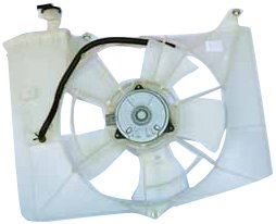 TYC 620790 Toyota/Scion Replacement Radiator/Condenser Cooling Fan Assembly