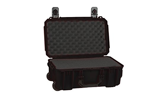 Seahorse Protective Equipment Cases SE830 Carry On Case with Foam, Black, Medium