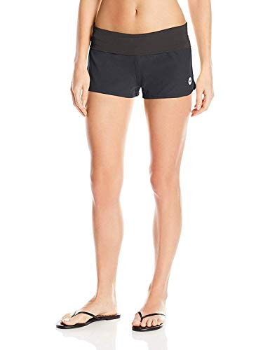 Roxy womens Endless Summer Boardshort Board Shorts, Midnight Black, Medium US
