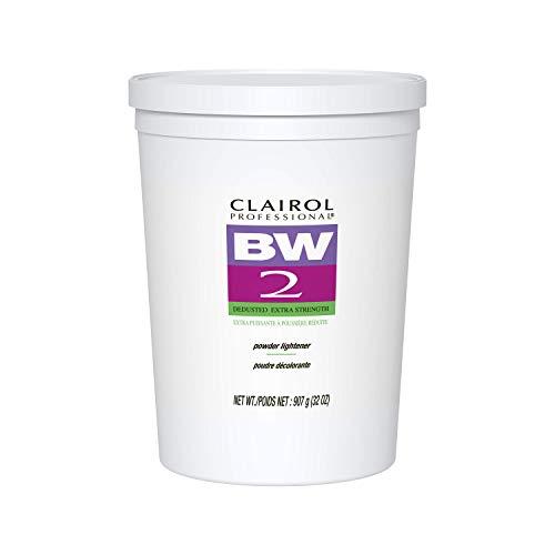 Clairol BW2 Powder Lightener for Hair Coloring, 8 oz