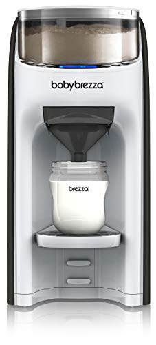 New and Improved Baby Brezza Formula Pro Advanced Formula Dispenser Machine - Automatically Mix a Warm Formula Bottle Instantly - Easily Make Bottle with Automatic Powder Blending