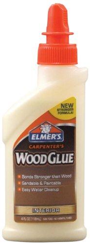 Elmer's Products, Inc E7000 Carpenters Wood Glue4Oz, 4 oz, Multicolor