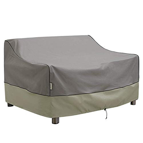 KylinLucky Outdoor Furniture Covers Waterproof, 3-Seater Deep Seat Patio Sofa Covers Fits up to 88W x 40D x 33H inches