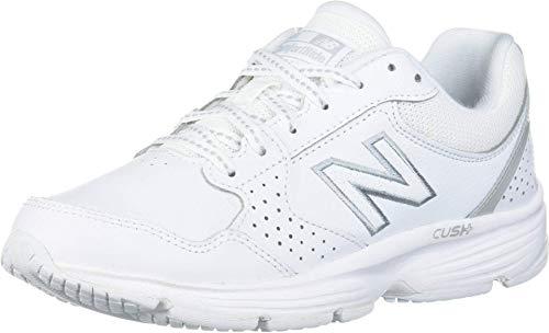 New Balance Women's 411 V1 Walking Shoe, White/White, 9 M US