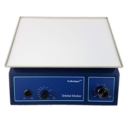 Orbital Shaker, Oscillator with Anti-Slip Pad, Adjustable Speed at 0-210rpm, 110V