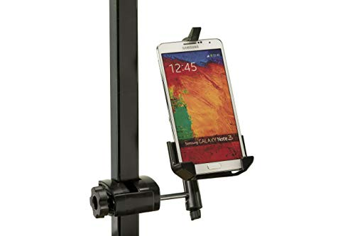 Caddie Buddy iPhone Golf Cart Mount - Fits All iPhones Less Than 2.8 inches Wide 5 6 7 8 10 (not 6+7+ 8+)