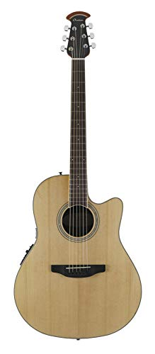 Ovation 6 String Acoustic-Electric Guitar, Right Handed, Natural (CS24-4)