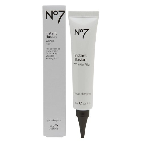 Boots No7 Instant Illusion Wrinkle Filler 1 oz (30 ml) (Pack of 2)