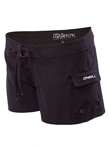 O'NEILL South Pacific Womens Stretch Boardshorts 7 Black