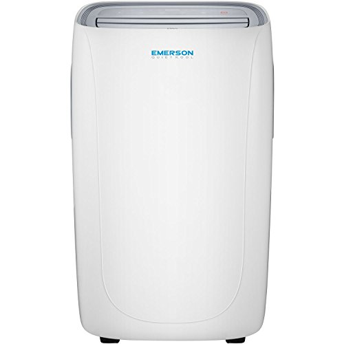 Emerson Quiet Kool Portable Air Conditioner with Remote Control for Rooms up to 150-Sq. Ft, EAPC8RD1, White