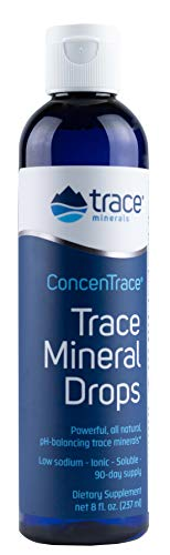 Trace Minerals Research - Concentrace Trace Mineral Drops - 8 Fl Oz (Pack of 1)