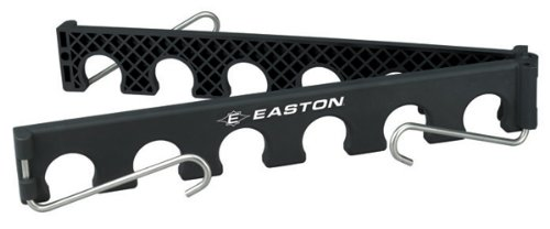 EASTON ULTIMATE Baseball / Softball Bat Fence Rack Attaches Easily To Any Fence And Organizes Players Bats Holds 12 Bats Collapsible For Easy Transport Lightweight And Durable