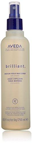 Brilliant Medium Hold Hair Spray by Aveda for Unisex - 8.5 oz Hairspray