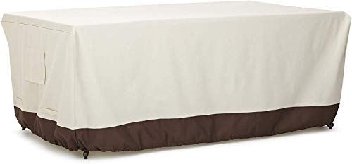 AmazonBasics Dining Table Outdoor Patio Furniture Cover, 75 Inch
