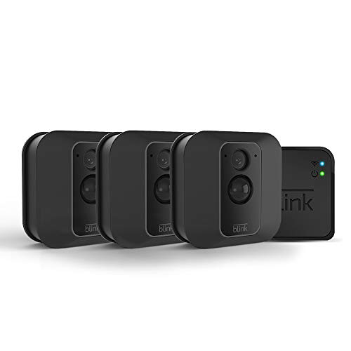 Blink XT2 Outdoor/Indoor Smart Security Camera with cloud storage included, 2-way audio, 2-year battery life  3 camera kit