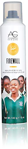 AG Hair Firewall Argan Shine & Flat Iron Spray, 5 oz