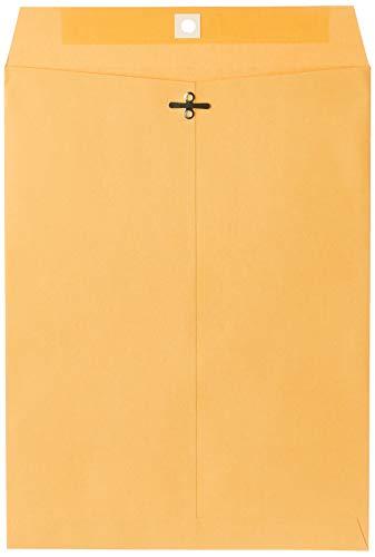 Mead Envelope, Clasp, 9' x 12', Brown Kraft, 100/Box (CO790)