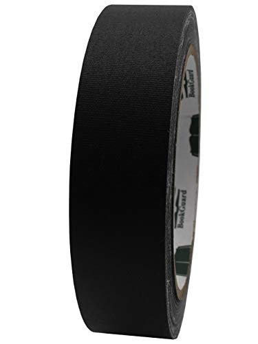 1' Black Colored Premium-Cloth Book Binding Repair Tape | 15 Yard Roll (BookGuard Brand)