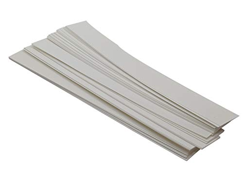 Grade 1 Chromatography Paper 6 x 0.75 Inches for Laboratories, School, Pigment Separation and Experiments