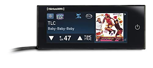 SiriusXM Commander Touch Full-Color, Touchscreen Dash-Mounted Radio with Free 3 Months Satellite and Streaming Service